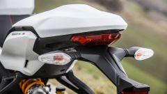 Ducati Supersport S: il guscio copri codino è amovibile