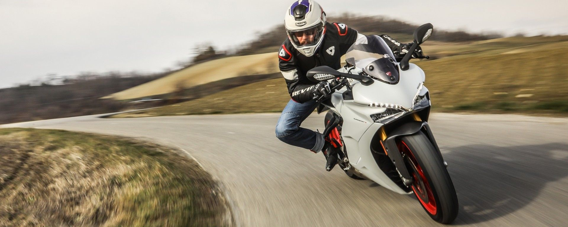 Ducati Supersport S: il test