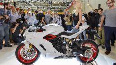 Ducati SuperSport S in mostra ad Intermot 2016
