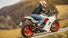 Ducati Supersport S in staccata