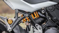 Ducati Supersport S: le pedane del passeggero