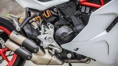 Ducati Supersport S: motore e scarichi Akrapovic opzionali