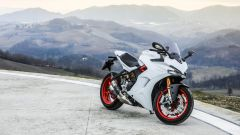 Ducati Supersport S: vista dall'alto