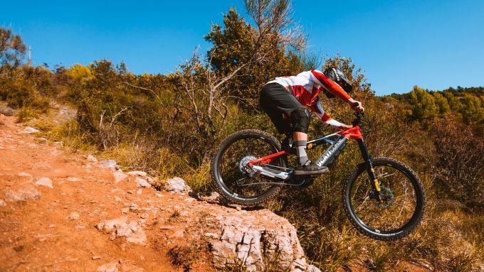 Ducati: test ride con le E-MTB, MIG-S e TK-01RR