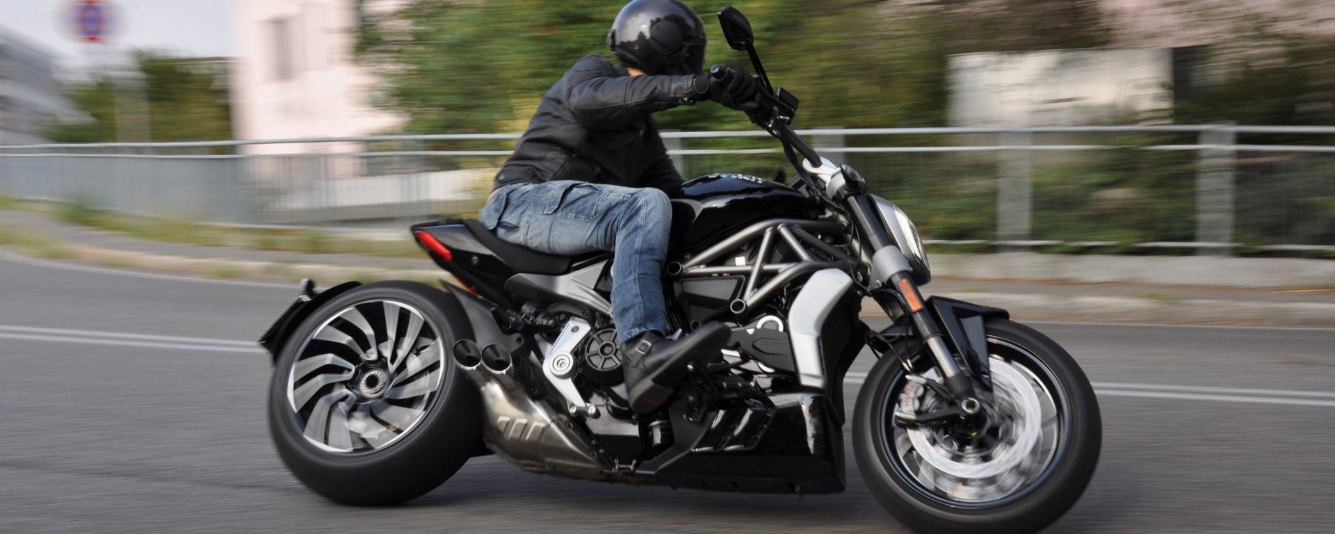 Ducati XDiavel S, la prova su strada