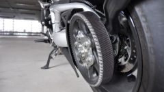 Ducati XDiavel S, trasmissione a cinghia