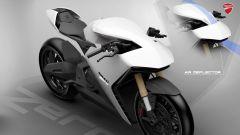Ducati Zero by Fernando Pastre Fertonani: il flusso d'aria nel cupolino