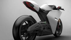 Ducati Zero by Fernando Pastre Fertonani: vista 3/4 posteriore
