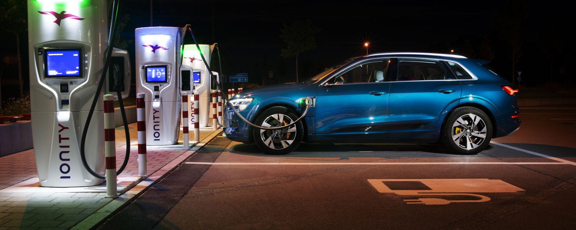 Due gli abbonamenti a consumo (con canone mensile fisso) di Ionity per i clienti Audi