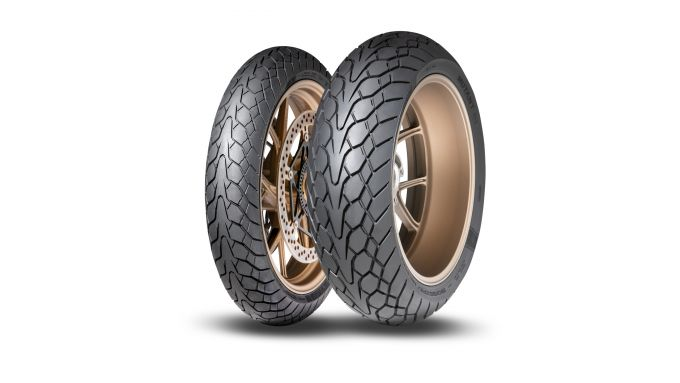 Dunlop Mutant, la coppia di pneumatici anteriore e posteriore
