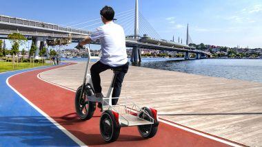 Dynamic Cargo, il concept di cargo bike elettrica di BMW