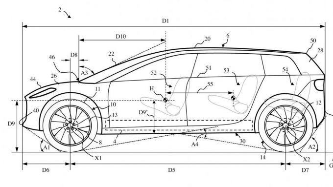 Dyson: i primi bozzetti di quella che doveva essere l'auto elettrica