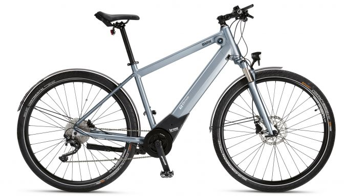 e-bike BMW: Active Hybrid e-Bike, vista laterale
