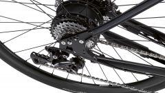 e-bike BMW: il motore posteriore della Urban Hybrid e-Bike