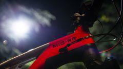 E-bike Ducati MIG-RR, dettaglio del cannotto