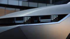 E-GMP: particolare dei fari del SUV EV Ioniq 5