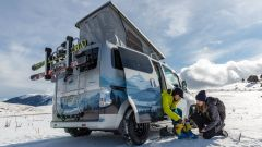 e-NV200 Winter Concept, estetica migliorata per l'off-road