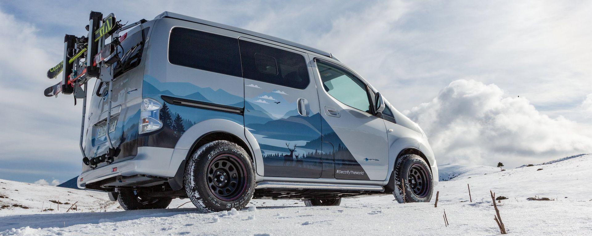 e-NV200 Winter Concept, il camper elettrico secondo Nissan