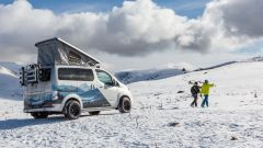 e-NV200 Winter Concept, off-road sulla neve per due