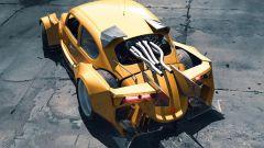 E se il Maggiolino diventasse una Corvette? Il 3D artist lo immagina così