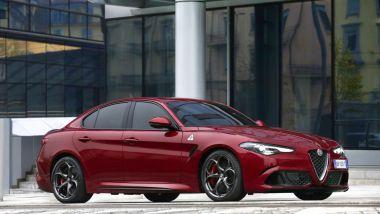 È tripletta per Alfa Romeo Giulia Quadrifoglio: Performance Car of the Year 2020