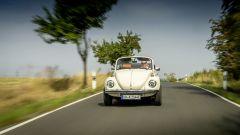 eBeetle (eKafer): il vecchio Volkswagen Maggiolino elettrico, vista frontale