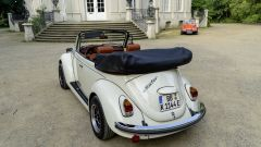eBeetle (eKafer): il Volkswagen Maggiolino elettrico, il posteriore dall'alto