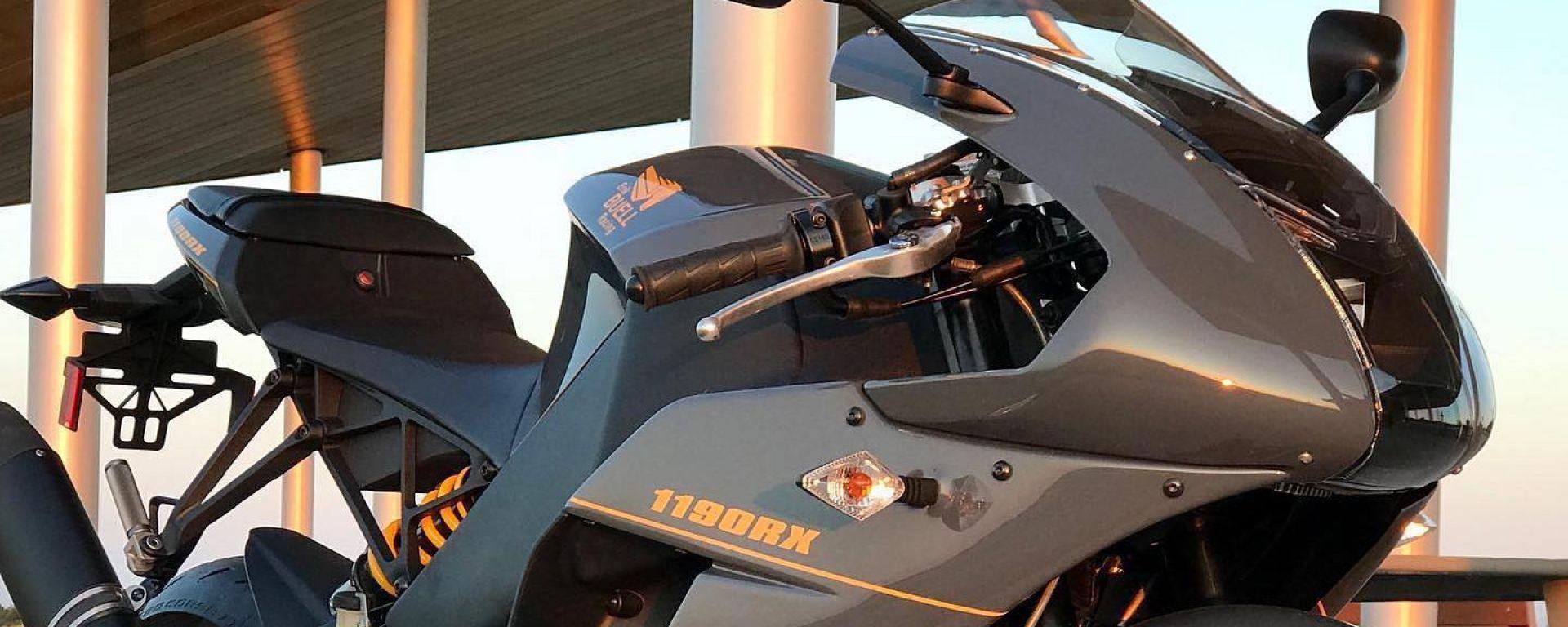 Erik Buell Racing, la produzione della EBR 1190 RS continua