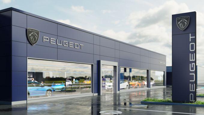Ecco come appariranno i nuovi concessionari Peugeot