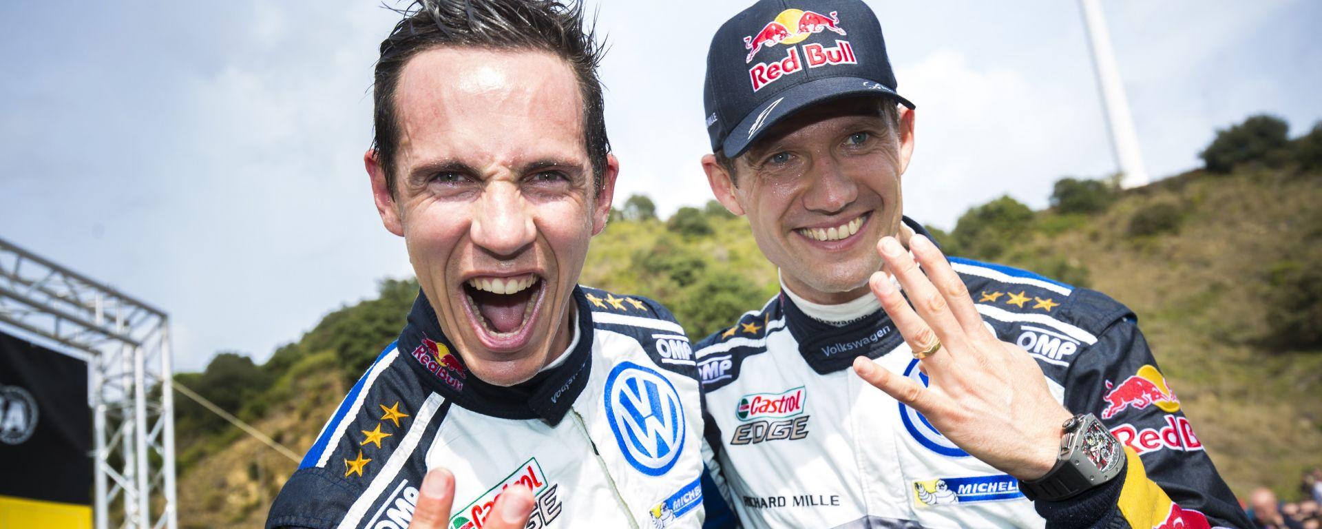 Ecco i campioni! Sébastien Ogier / Julien Ingrassia - Rally Spagna 2016