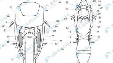 Ecco il brevetto Aprilia che potrebbe essere usato sulla sportiva RSV4