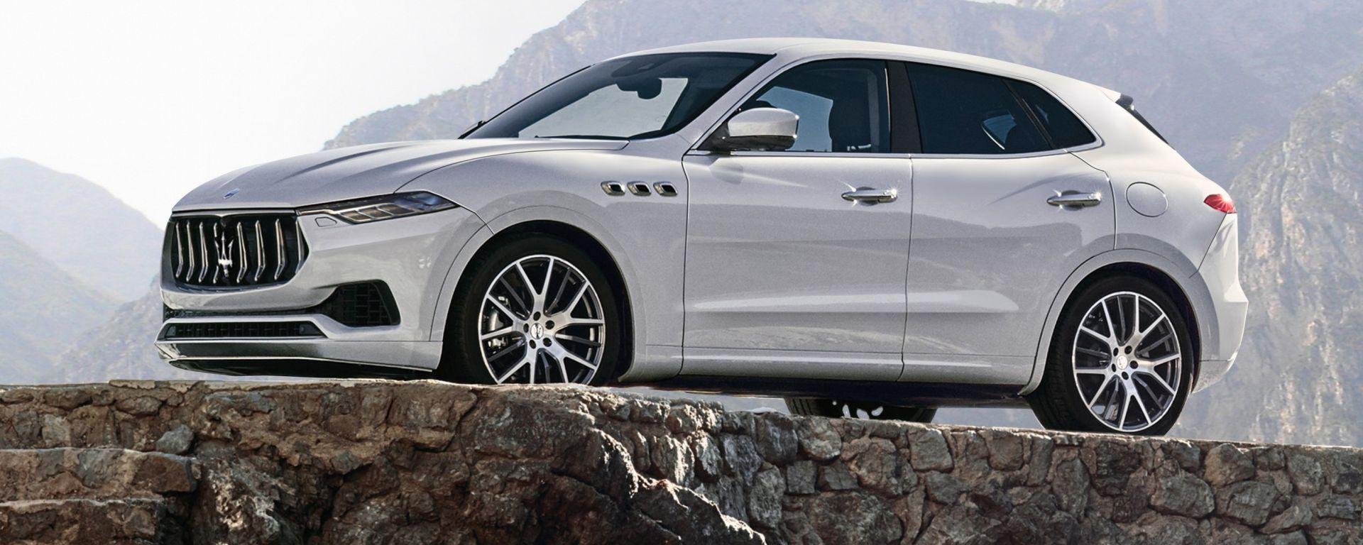 Ecco il nuovo Baby-SUV Maserati. Più piccolo della Levante, si chiamerà Kubang?