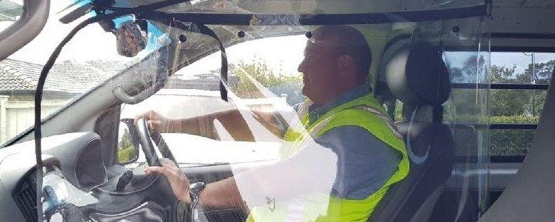 Ecco la Driver Bubble che isola l'autista nell'abitacolo