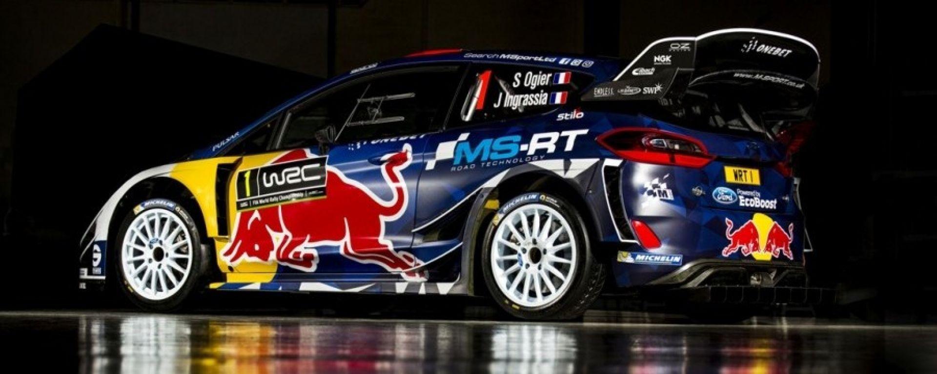 Ecco la Ford Fiesta WRC del Team M-Sport