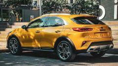 Ecco la Kia Xceed 2019: come sarà il nuovo SUV compatto: vista 3/4 posteriore