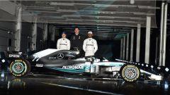 Ecco la Mercedes F1 W09: tutte le immagini  - Immagine: 5