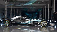Ecco la Mercedes F1 W09: tutte le immagini  - Immagine: 6