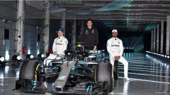 F1 2018: ecco la Mercedes F1 W09: tutte le immagini