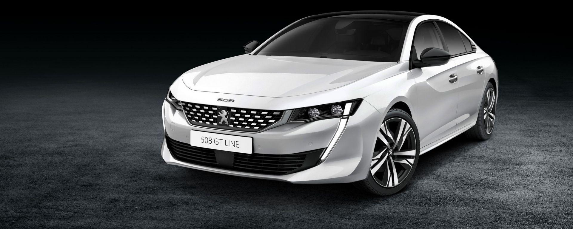 Ecco la nuova Peugeot 508