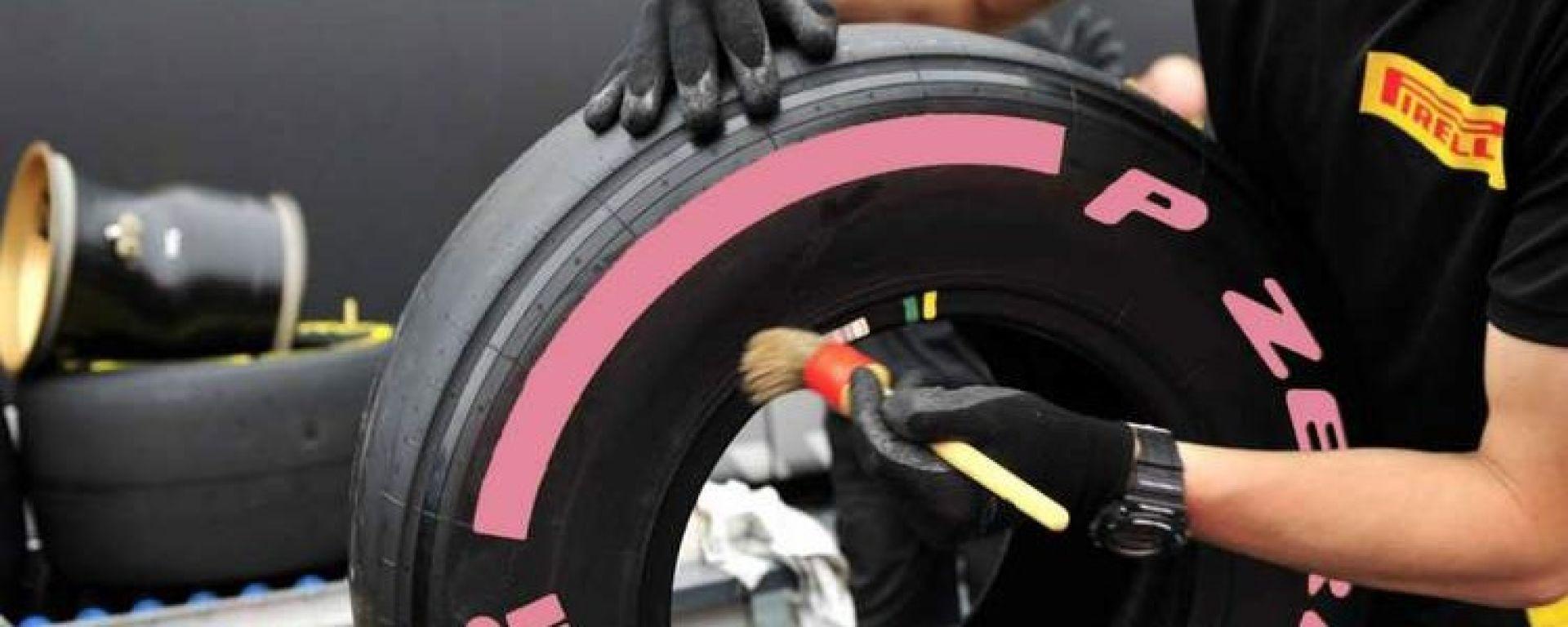Ecco la Pirelli Pink, la nuova mescola che sarà introdotta nella F1 2018