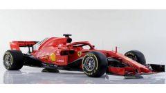 Ecco un altra immagine della Ferrari SF71H