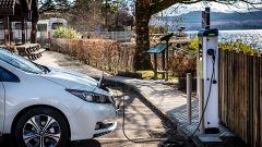 Echion Technologies: una Nissan Leaf alla colonnina