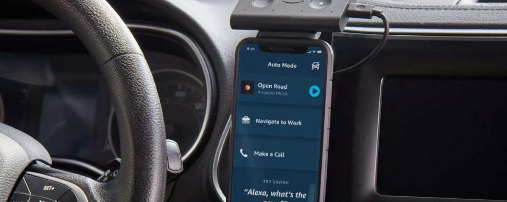 Echo con Alexa e la nuova Modalità Auto