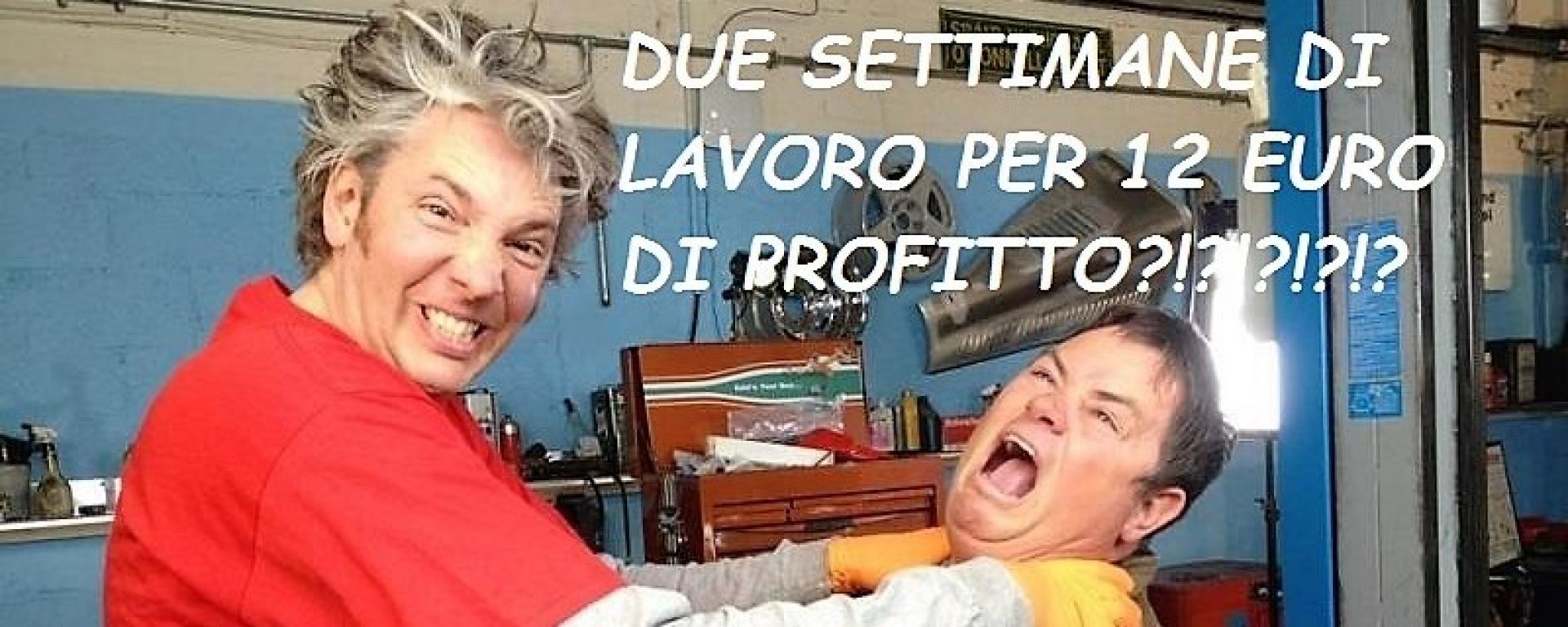 Edd China e il suo ex collega Mike Brewer