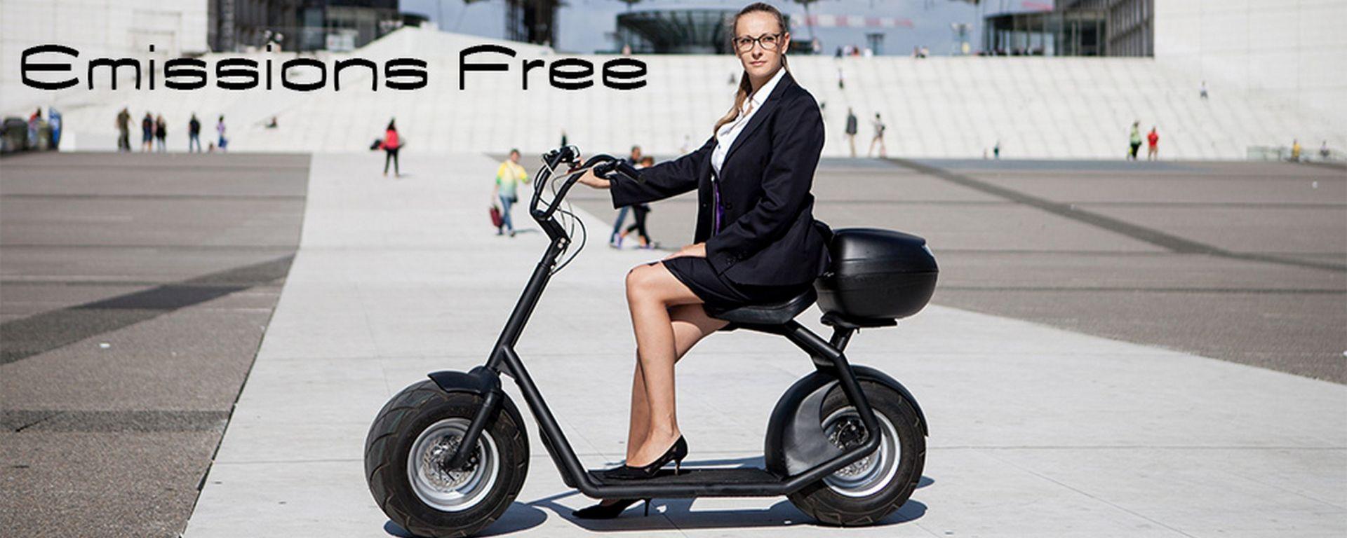 eGroov: lo scooter green per ogni tipo di terreno