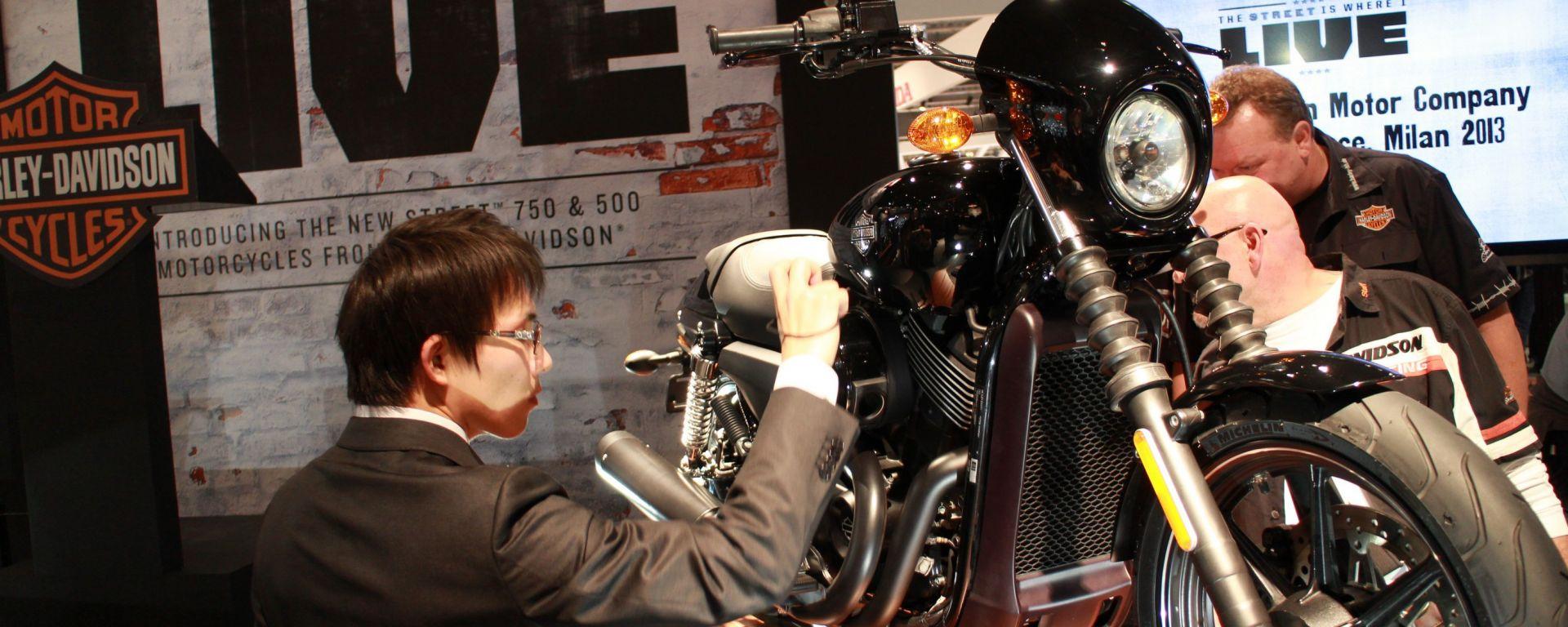 Eicma 2013, lo stand Harley-Davidson