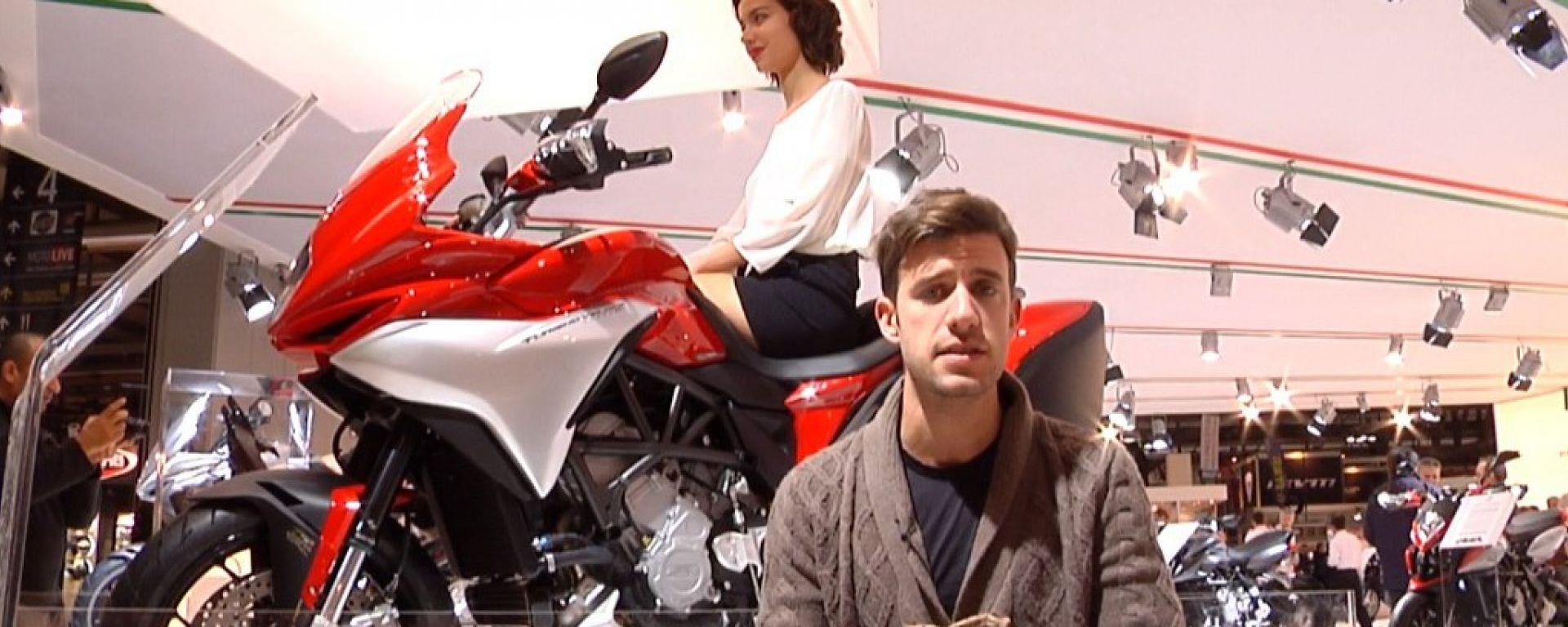 Eicma 2013, lo stand MV Agusta