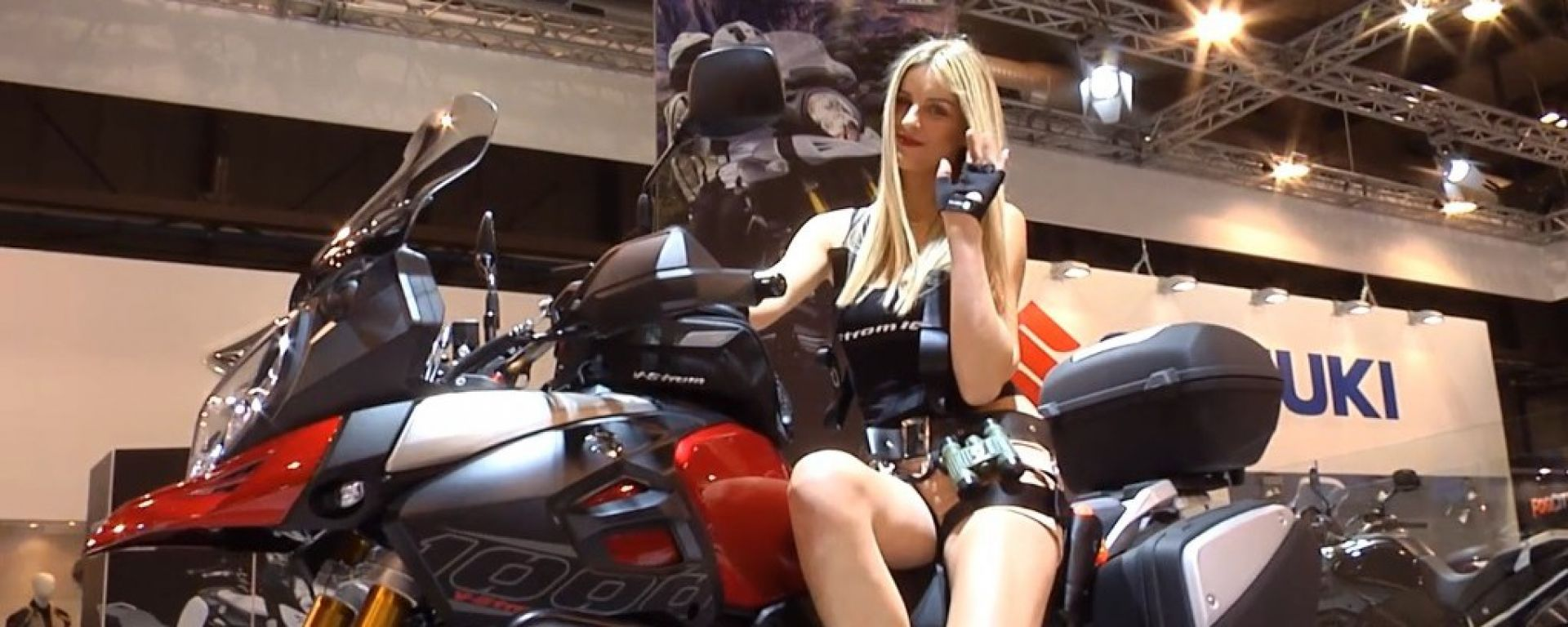 Eicma 2013, lo stand Suzuki