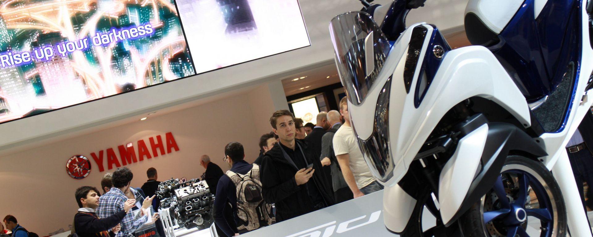 Eicma 2013, lo stand Yamaha