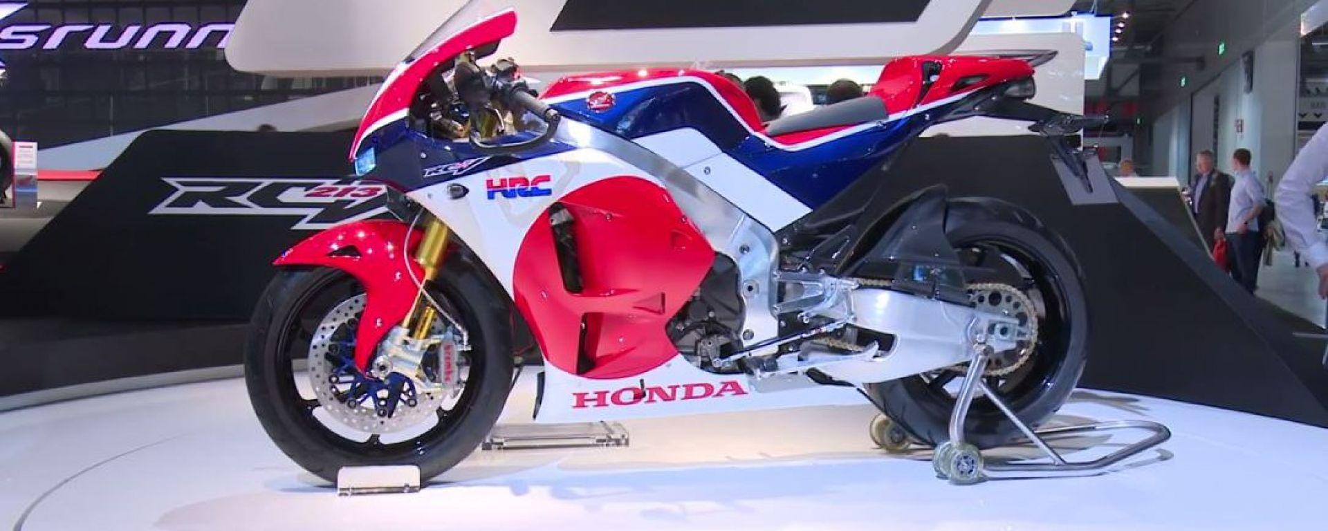 Eicma 2014, lo stand Honda